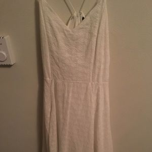 Doe and Rae white long floral dress(worn once)